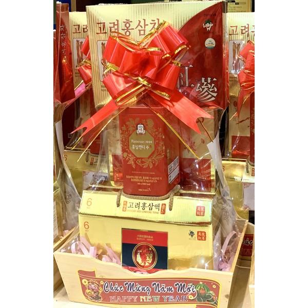 Giỏ quà tặng Hoàng Sâm cao cấp
